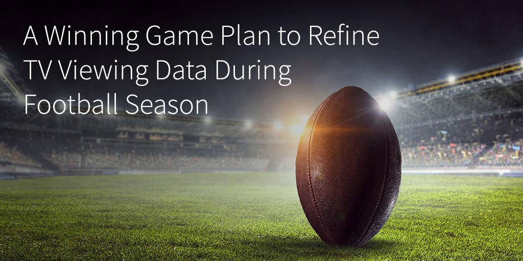A Winning Game Plan to Refine TV Viewing Data During Football Season