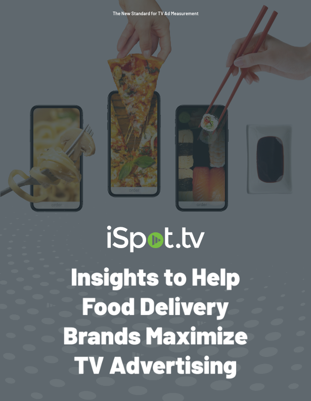 Insights to Help Food Delivery Brands Maximize TV Advertising