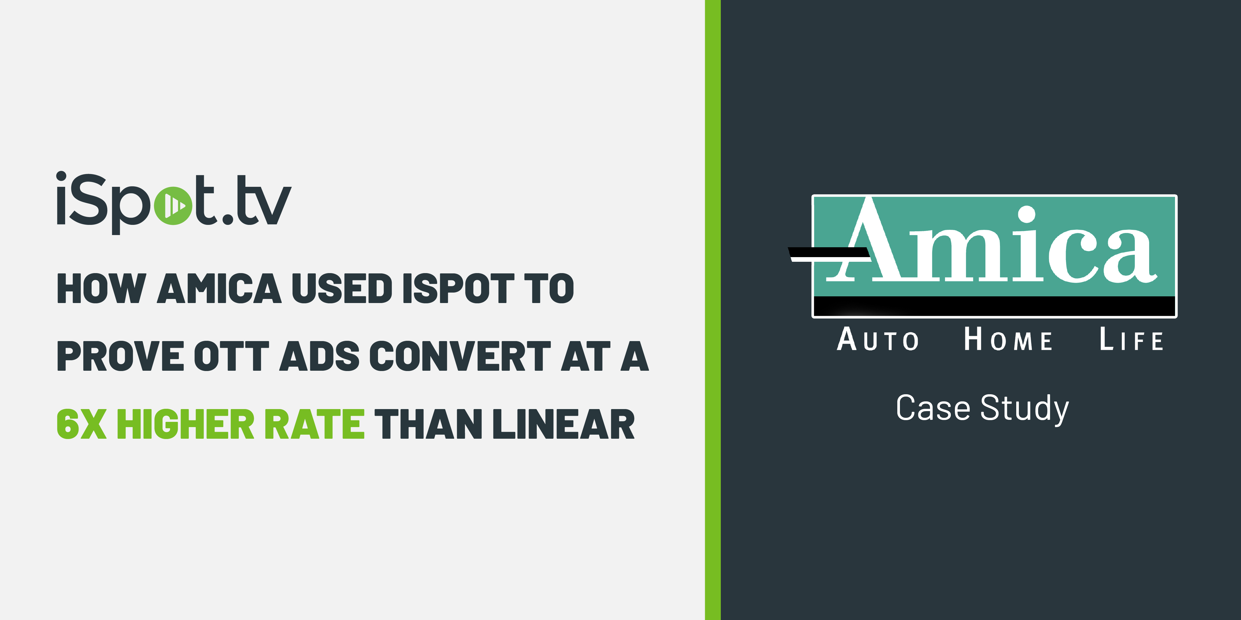 How Amica used iSpot to PRove OTT Ads Convert at a 6x Higher Rate Than Linear