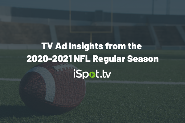 TV Ad Insights from the 2020-2021 NFL Regular Season