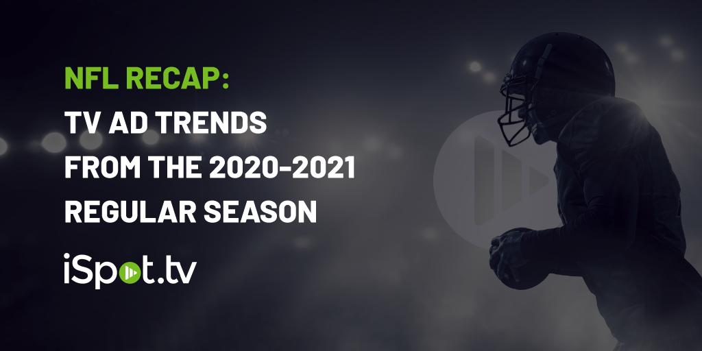 NFL recap: TV Ad Trends from the 2020-2021 Regular Season